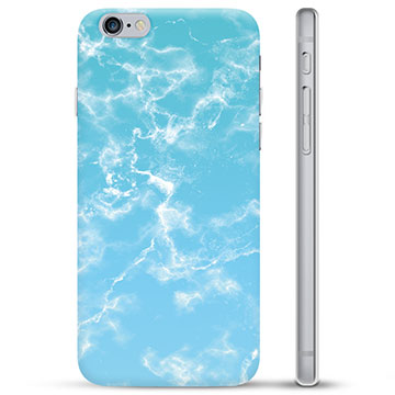 iPhone 6 / 6S TPU Case - Blue Marble