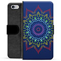 iPhone 6 / 6S Premium Wallet Case - Colorful Mandala