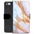 iPhone 6 / 6S Premium Wallet Case - Elegant Marble