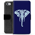 iPhone 6 / 6S Premium Wallet Case - Elephant