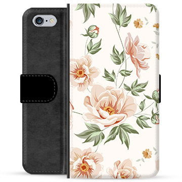 iPhone 6 Plus / 6S Plus Premium Wallet Case - Floral