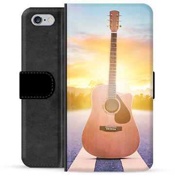 iPhone 6 Plus / 6S Plus Premium Wallet Case - Guitar