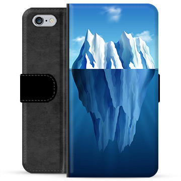 iPhone 6 Plus / 6S Plus Premium Wallet Case - Iceberg