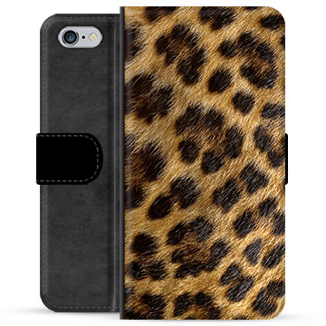 iPhone 6 Plus / 6S Plus Premium Wallet Case - Leopard