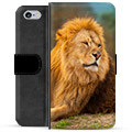 iPhone 6 / 6S Premium Wallet Case - Lion