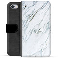 iPhone 6 Plus / 6S Plus Premium Wallet Case - Marble