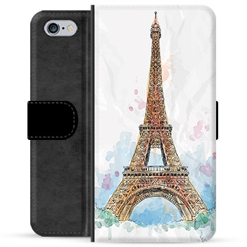 iPhone 6 / 6S Premium Wallet Case - Paris