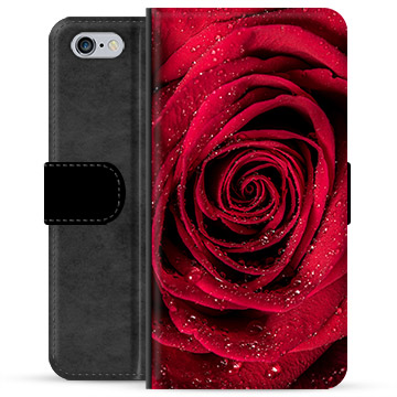 iPhone 6 Plus / 6S Plus Premium Wallet Case - Rose