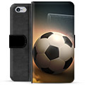 iPhone 6 Plus / 6S Plus Premium Wallet Case - Soccer