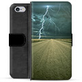 iPhone 6 Plus / 6S Plus Premium Wallet Case - Storm