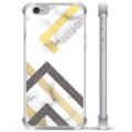 iPhone 6 Plus / 6S Plus Hybrid Case - Abstract Marble
