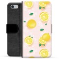 iPhone 6/6S Premium Wallet Case - Lemon Pattern