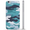 iPhone 6 / 6S TPU Case - Blue Camouflage