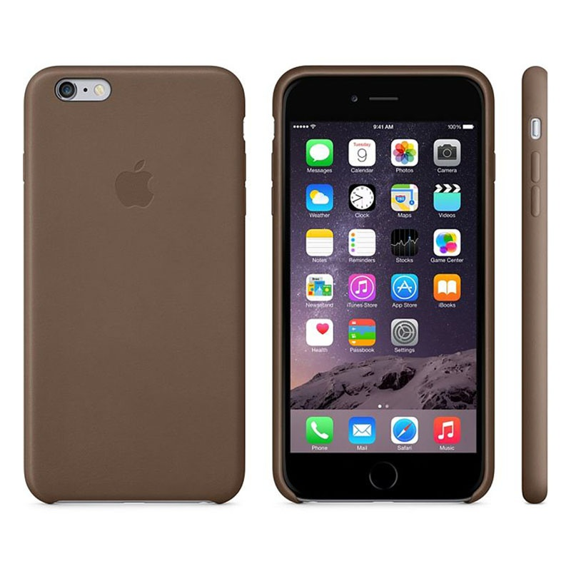 orologio c5156 09e2d iPhone 6 Plus / 6S Plus Apple MGQR2ZM/A Leather Cover