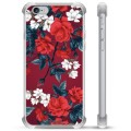 iPhone 6 / 6S Hybrid Case - Vintage Flowers