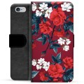 iPhone 6 / 6S Premium Wallet Case - Vintage Flowers
