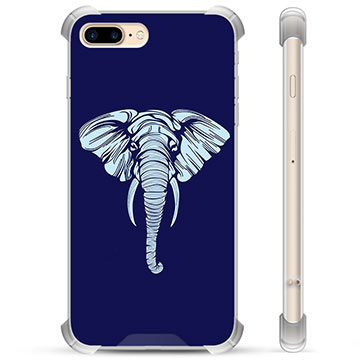 iPhone 7 Plus / iPhone 8 Plus Hybrid Case - Elephant