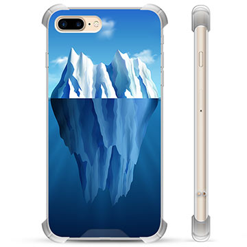 iPhone 7 Plus / iPhone 8 Plus Hybrid Case - Iceberg