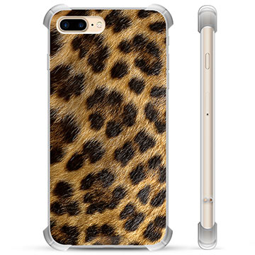 iPhone 7 Plus / iPhone 8 Plus Hybrid Case - Leopard