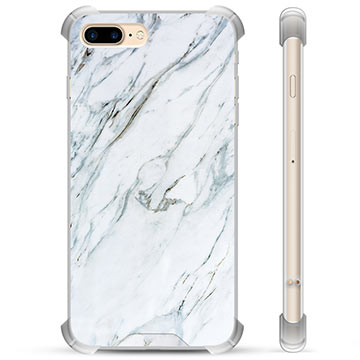 iPhone 7 Plus / iPhone 8 Plus Hybrid Case - Marble