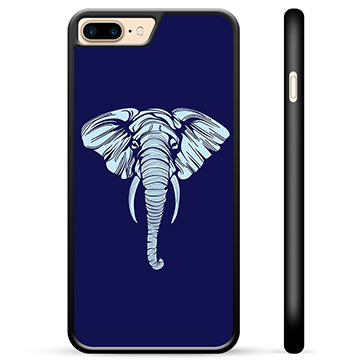 iPhone 7 Plus / iPhone 8 Plus Protective Cover - Elephant