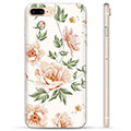 iPhone 7 Plus / iPhone 8 Plus TPU Case - Floral