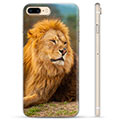 iPhone 7 Plus / iPhone 8 Plus TPU Case - Lion