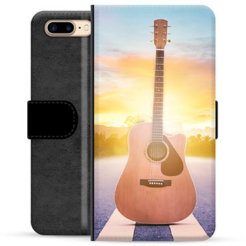 iPhone 7 Plus / iPhone 8 Plus Premium Wallet Case - Guitar