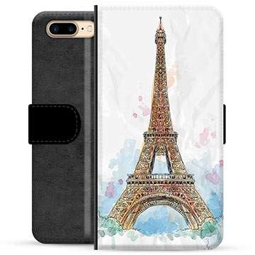 iPhone 7 Plus / iPhone 8 Plus Premium Wallet Case - Paris