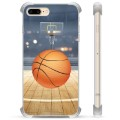 iPhone 7 Plus/ iPhone 8 Plus Hybrid Case - Basketball