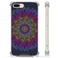 iPhone 7 Plus/ iPhone 8 Plus Hybrid Case - Colorful Mandala
