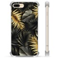iPhone 7 Plus/ iPhone 8 Plus Hybrid Case - Golden Leaves