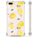 iPhone 7 Plus/ iPhone 8 Plus Hybrid Case - Lemon Pattern