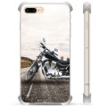 iPhone 7 Plus/ iPhone 8 Plus Hybrid Case - Motorbike