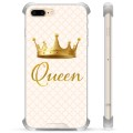 iPhone 7 Plus/ iPhone 8 Plus Hybrid Case - Queen