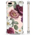 iPhone 7 Plus/ iPhone 8 Plus Hybrid Case - Romantic Flowers