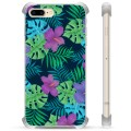iPhone 7 Plus/ iPhone 8 Plus Hybrid Case - Tropical Flower