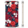 iPhone 7 Plus/ iPhone 8 Plus Hybrid Case - Vintage Flowers