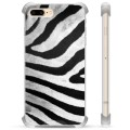 iPhone 7 Plus/ iPhone 8 Plus Hybrid Case - Zebra
