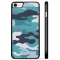 iPhone 7/8/SE (2020) Protective Cover - Blue Camouflage