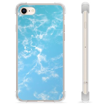 iPhone 7 / iPhone 8 Hybrid Case - Blue Marble