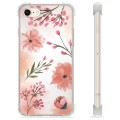 iPhone 7 / iPhone 8 Hybrid Case - Pink Flowers