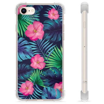 iPhone 7 / iPhone 8 Hybrid Case - Tropical Flower