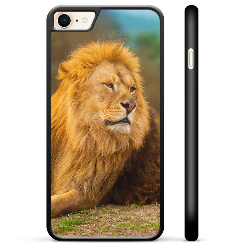 iPhone 7 / iPhone 8 Protective Cover - Lion