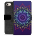 iPhone 7 / iPhone 8 Premium Wallet Case - Colorful Mandala