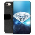 iPhone 7 / iPhone 8 Premium Wallet Case - Diamond