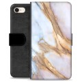 iPhone 7 / iPhone 8 Premium Wallet Case - Elegant Marble