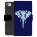 iPhone 7 / iPhone 8 Premium Wallet Case - Elephant