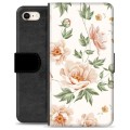iPhone 7 / iPhone 8 Premium Wallet Case - Floral