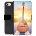 iPhone 7 / iPhone 8 Premium Wallet Case - Guitar